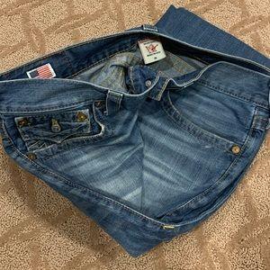 True Religion Ricky Denim Jeans 36x32